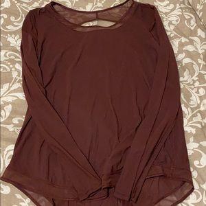 Long sleeve lululemon top